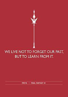 Final Fantasy Words of Wisdom: Freya