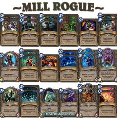 #hearthstone Mill Rogue