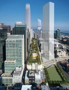 Salesforce Transit Center Building San Francisco