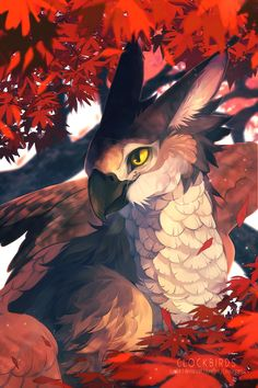 Gryphon by clockbirds