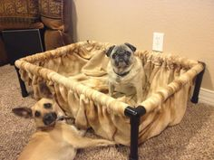 Dog bed to dig in by suttongear on Etsy