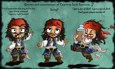 Quotes of Little Cap'n Jack 2 by =Ruth-Tay on deviantART