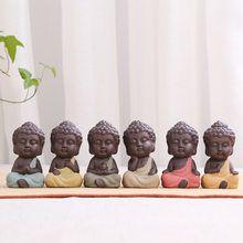 Tathagata Estátua de Buda Tathagata Índia Yoga Mandala Esculturas Em Cerâmica Enfeites de Cerimônia do Chá Monge Estatueta Presente Home Decor Baby Buddha, Buddha Zen, Stop Motion, Clay Art, Buddhism, Pop Art, Pottery, Pure Products, Cute