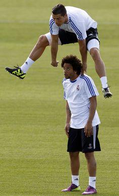 Marcelo and Ronaldo