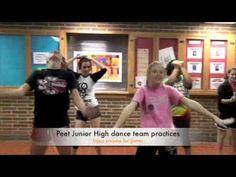 Peet Junior High dance team practices