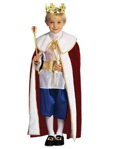 Costum Rege cu pelerina si coroana