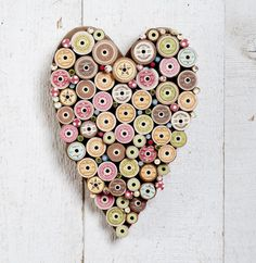 wooden spool heart - source: http://www.allpeoplequilt.com/projects-ideas/holidays-events/lovely-valentines-day-crafts_ss1.html