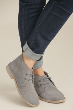 Seasalt Desert Boot - Cobble Our winter collection at  http://www.lissomecollection. Desert ShoesDesert Boots WomenAndrogynous ...