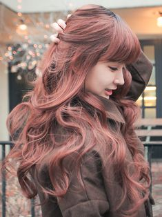 auburn an amazing mix of pink and brown to achieve this