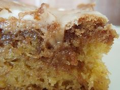 cinnamon swirl coffee cake using yellow cake mix Make for VBS workers 6/2013 This smelled heavenly as it cooked!