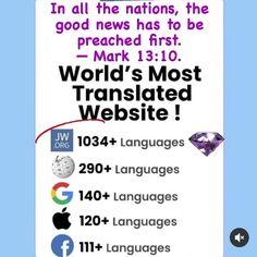 Jehovah, Good News, Language, Good Things, Words, Languages, Horse, Language Arts