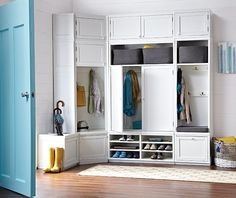 Martha Stewart Living™ Mudroom Wide Hutch - Mudroom Storage - Mudroom Organization - Mudroom Furniture - Mud Room - Closet Storage Ideas - Home Organization Products - Mudroom | HomeDecorators.com