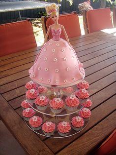 Tortas decoradas de Barbie |Ideas y decoración de fiestas ...