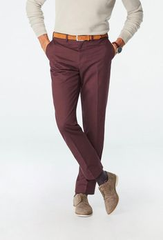 burgundy suit pants - engagement outfits Engagement Dresses, Engagement Photo Outfits, Engagement Shoots, Burgundy Suit, Stylish Suit, Suit Pants, What To Wear, Photoshoot, Suits