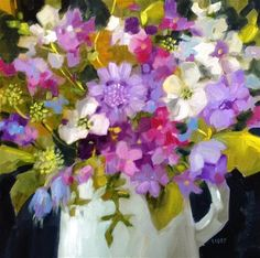 """Daily Paintworks - """"One Thing"""" - Original Fine Art for Sale - © Libby Anderson"""
