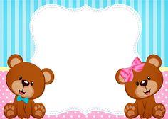 Marcos para fotos, invitaciones, tarjetas, stickers, imagenes para cumpleaños de mellizos o gemelos Bautismo decoración