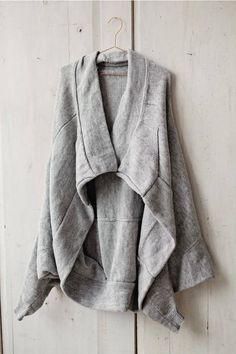Knitting pattern for grey cardigan