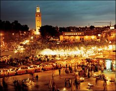 Marrakech, Morocco. It's chaotic but amazing. I loved the main square - the Djemaa el-Fna and the Majorelle Gardens which were beautiful.