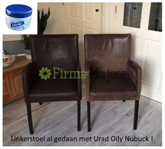 Urad Oily Nubuck crême 200 gram speciaal voor opgeruwd leer • Urad Armchair, Furniture, Beauty, Home Decor, Womb Chair, Decoration Home, Armchairs, Home Furnishings, Cosmetology