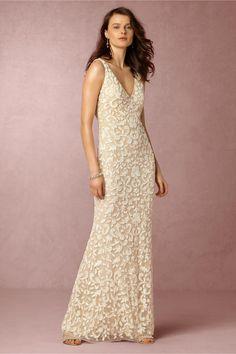 BHLDN Meghan Gown in  Bride Wedding Dresses at BHLDN