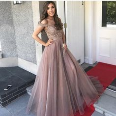 Gorgeous Prom Dresses,Off the Shoulder Prom Gown,Brown Prom Dresses,Long Prom Dress,Beading Prom Dress · LovePromDresses · Online Store Powered by Storenvy Brown Prom Dresses, Gorgeous Prom Dresses, Dresses Elegant, Backless Prom Dresses, A Line Prom Dresses, Cheap Prom Dresses, Pretty Dresses, Homecoming Dresses, Formal Dresses