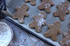 Gingerbread Cookies with cassava flour - Planks, Love & Guacamole