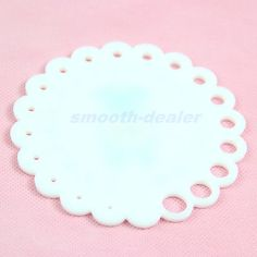 Round Knitting Knit Needle Sizer Gauge Ruler Measure Tool Size 2mm -10mm New