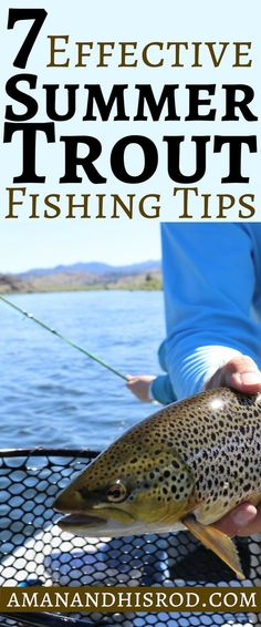 7 Effective Summer Trout Fishing Tips is an action packed article about some of . - 7 Effective Summer Trout Fishing Tips is an action packed article about some of my most prized - Fishing Girls, Sea Fishing, Carp Fishing, Saltwater Fishing, Kayak Fishing, Fishing 101, Fishing Stuff, Fishing Poles, Women Fishing