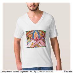 Lamp Hands Joined Together : Nameste T-Shirt