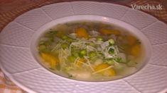 Hrášková polievka s kvakou - Recept Ale, Soup, Ethnic Recipes, Basket, Ale Beer, Soups, Ales, Beer