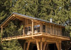Baumhäuser am Meraner Sonnenplateau