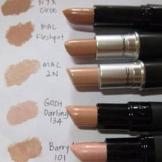 MAC Nude Lip Colors by angelique
