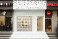 Aimé Patisserie by LUKSTUDIO, Shanghai – China » Retail Design Blog