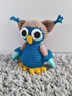 Jamin / sovička Freddy crochet owl