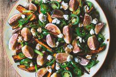Roasted Yams and Fresh Figs