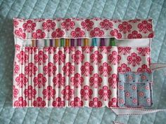 Crochet hook roll-tastic