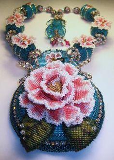 Beaded Multiplicity Necklace -Erin Simonetti