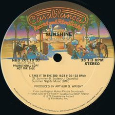 """Sunshine - """"Take It To The Zoo"""" (1978) Disco Purrfection Version"""