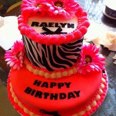 My granddaughter 9th birthday cake