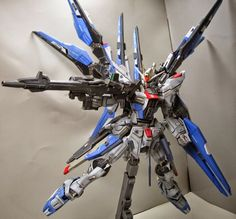 MG 1/100 ZGMF-X20A / X Strike Freedom Custom Build by siranui     The best looking and best customization done on Strike Freedom model kit!...