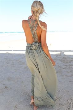 Muse Maxi Dress | SABO SKIRT
