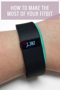 If you've been around here a while, you know I'm a big fan of my Fitbit. I've now had one for nearly two years (crazy, right?) and feel like I've learned a lot along the way. If you're on the fence about getting one, just got one and aren't sure what to d Fitness Diet, Fitness Motivation, Health Fitness, Fitness Weightloss, Fitness Quotes, Fitness Tracker, Health Tips, Health And Wellness, Fitbit Charge Hr