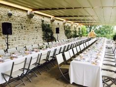 Simple and chic wedding decoration ideas from Provence Alpes Cote d'Azur, France