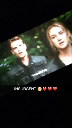 I SAW INSURGENT YESTERDAY AND IT WAS PERFECT<<i can't wait to see it