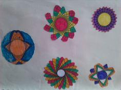 kleine mandala's kleuren
