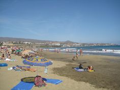 Sandy beach, Maspalomas, 2009.