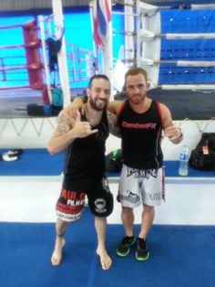 M.M.A. Training with Anthony Leone Bellator Fighter ,Thailand 2013