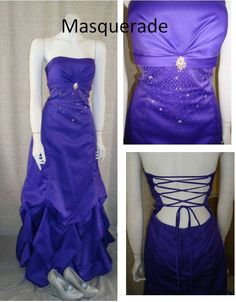 Beautiful, royal gown by Masquerade