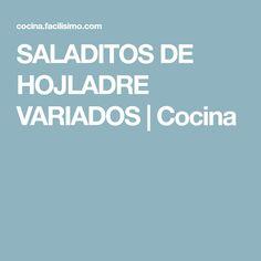 SALADITOS DE HOJLADRE VARIADOS | Cocina