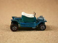 Hot Wheels Redline Hot Heap - 1968 Aqua Hot Heap Diecast Car - Vintage Collectible Miniature Vehicle by N2THEATTIC on Etsy